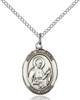 St. Camillus Necklace Sterling Silver