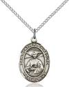 St. Catherine Laboure Patron Saint Necklace