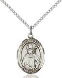 St. Dennis Necklace Sterling Silver