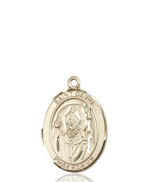 St. David Necklace Solid Gold