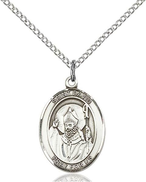 St. David Necklace Sterling Silver