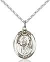 St. David of Wales Patron Saint Necklace
