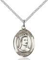 St. Elizabeth of Hungary Patron Saint Necklace