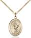 St. Florian Necklace Sterling Silver