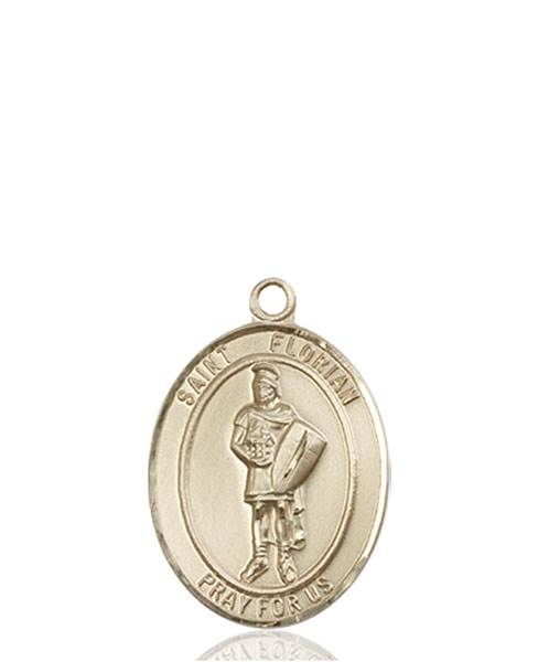 St. Florian Necklace Solid Gold