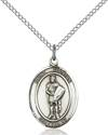 St. Florian Patron Saint Necklace
