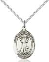 St. Francis of Assisi Patron Saint Necklace