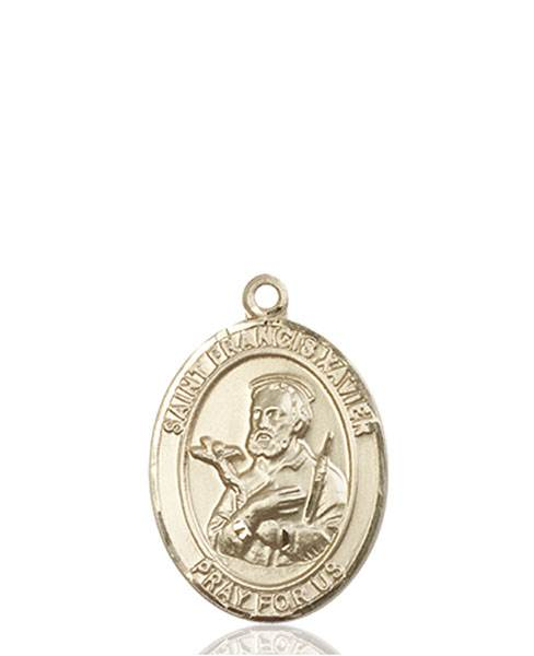St. Francis Necklace Solid Gold