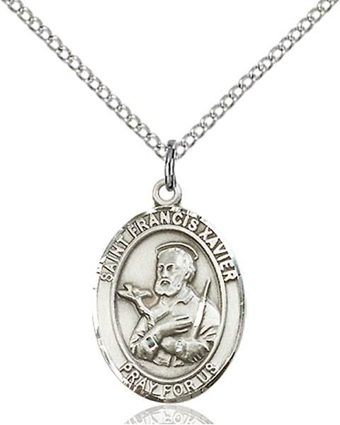 St. Francis Necklace Sterling Silver