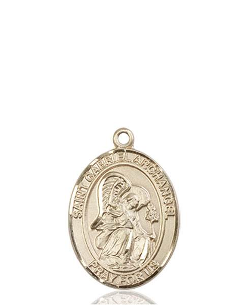St. Gabriel Necklace Solid Gold