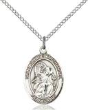 St. Gabriel Necklace Sterling Silver
