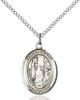 St. Genevieve Necklace Sterling Silver