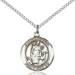 St. Hubert Necklace Sterling Silver