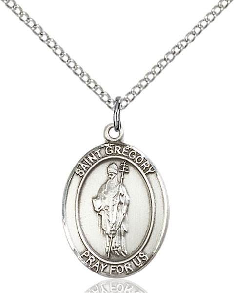 St. Gregory The Great Patron Saint Necklace