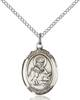St. Isidore Necklace Sterling Silver