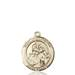 St. Joan of Arc Necklace Solid Gold