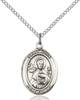 St. John The Apostle Pendant St. John The Apostle ,Engravers and Printers,Patron Saints,Patron Saints - J, sterling silver medals, gold filled medals, patron, saints, saint medal, saint pendant, saint necklace, 8056,7056,9056,7056SS,8056SS,9056SS,7056GF,8056GF,9056GF,
