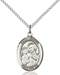 St. Joseph Necklace Sterling Silver
