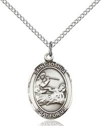 St. Joshua Necklace Sterling Silver