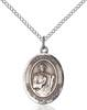 San Judas Necklace Sterling Silver