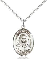 St. Louise De Marillac Pendant St. Louise De Marillac ,Orphans and Social Workers,Patron Saints,Patron Saints - L, sterling silver medals, gold filled medals, patron, saints, saint medal, saint pendant, saint necklace, 8064,7064,9064,7064SS,8064SS,9064SS,7064GF,8064GF,9064GF,