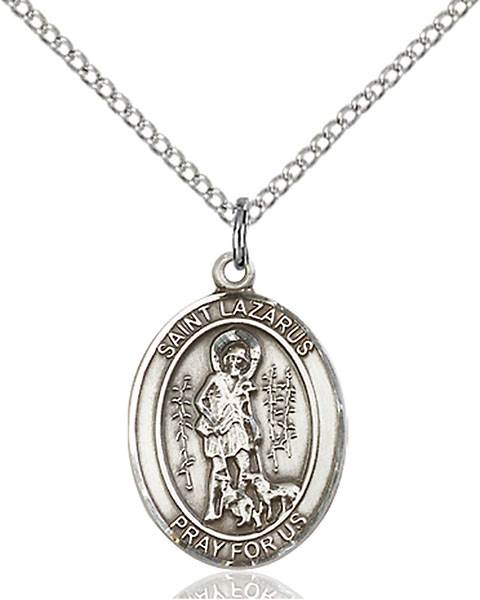 St. Lazarus Necklace Sterling Silver