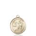 St. Luke Necklace Solid Gold