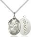 St. Luke Necklace Sterling Silver