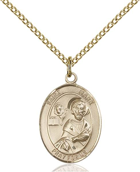St. Mark Necklace Sterling Silver