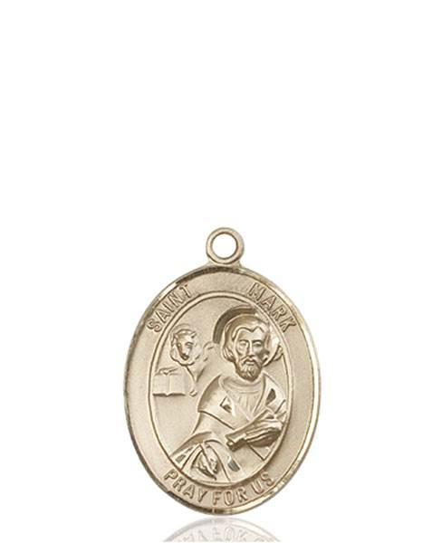 St. Mark Necklace Solid Gold