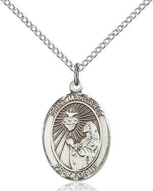 St. Margaret Mary Necklace Sterling Silver