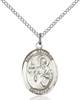 St. Matthew The Apostle Pendant St. Matthew The Apostle ,Accountants and Bankers,Patron Saints,Patron Saints - M, sterling silver medals, gold filled medals, patron, saints, saint medal, saint pendant, saint necklace, 8074,7074,9074,7074SS,8074SS,9074SS,7074GF,8074GF,9074GF,