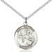St. Matthew Necklace Sterling Silver