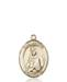 St. Martha Necklace Solid Gold