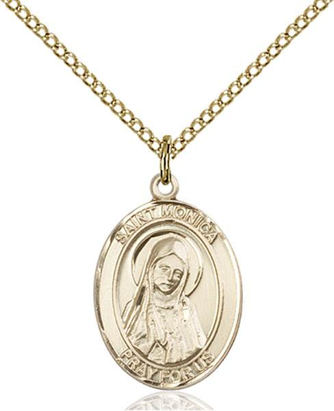 St. Monica Necklace Sterling Silver