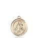 St. Nicholas Necklace Solid Gold