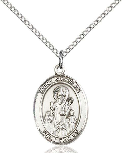 St. Nicholas Necklace Sterling Silver
