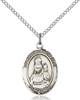 Our Lady of Loretto Necklace Sterling Silver