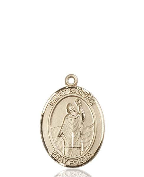 St. Patrick Necklace Solid Gold
