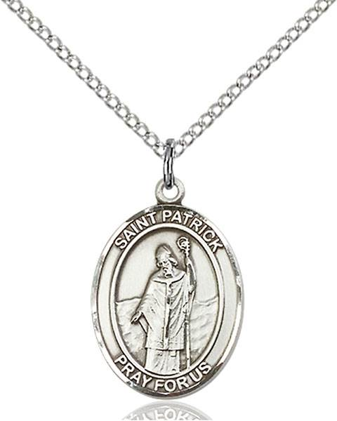 St. Patrick Necklace Sterling Silver