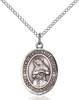 Virgen Divina Necklace Sterling Silver