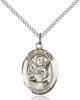 St. Raymond Nonnatus Pendant St. Raymond Nonnatus ,Infants and Childbirth,Patron Saints,Patron Saints - R, sterling silver medals, gold filled medals, patron, saints, saint medal, saint pendant, saint necklace, 8091,7091,9091,7091SS,8091SS,9091SS,7091GF,8091GF,9091GF,
