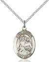 St. Raphael The Archangel Patron Saint Necklace