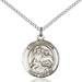 St. Raphael Necklace Sterling Silver