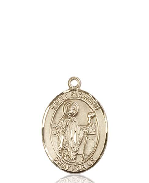 St. Richard Necklace Solid Gold