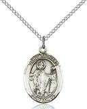St. Richard Necklace Sterling Silver