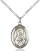 St. Rita of Cascia Pendant St. Rita Of Cascia ,Loneliness and Lost Causes,Patron Saints,Patron Saints - R, sterling silver medals, gold filled medals, patron, saints, saint medal, saint pendant, saint necklace, 8094,7094,9094,7094SS,8094SS,9094SS,7094GF,8094GF,9094GF,