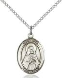 St. Rita Necklace Sterling Silver