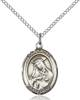 St. Rose of Lima Pendant St. Rose Of Lima ,Vanity and South America,Patron Saints,Patron Saints - R, sterling silver medals, gold filled medals, patron, saints, saint medal, saint pendant, saint necklace, 8095,7095,9095,7095SS,8095SS,9095SS,7095GF,8095GF,9095GF,