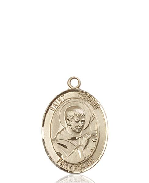 St. Robert Necklace Solid Gold
